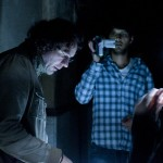 Shazad Latif on set with Director Craig Griffith